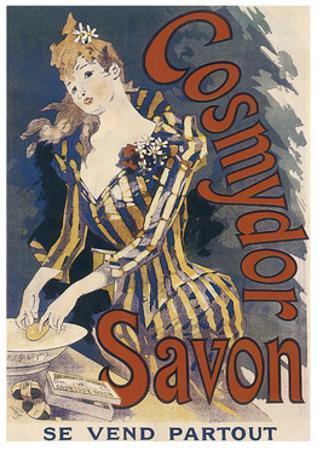 Cosmydor Savon, 1891 by Jules Chéret