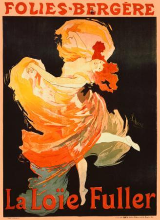 Folies Bergere, La Loie Fuller by Jules Chéret