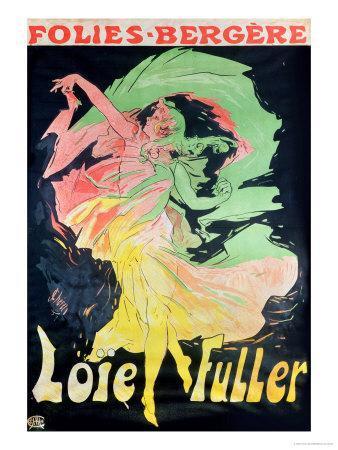 Folies Bergeres: Loie Fuller, France, 1897