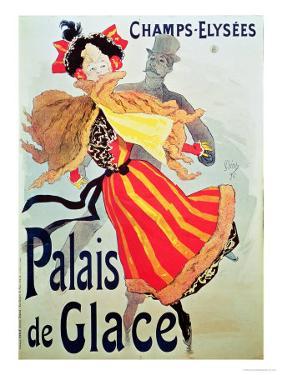 Ice Palace, Champs Elysees, Paris, 1893 by Jules Chéret