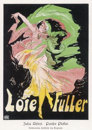 Loie Fuller by Jules Chéret