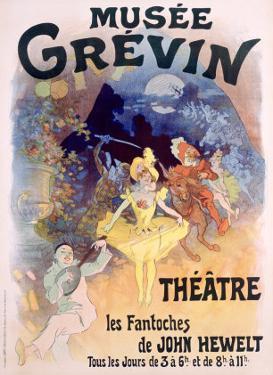 Musee Grevin, Fantoches de John Hewelt by Jules Chéret