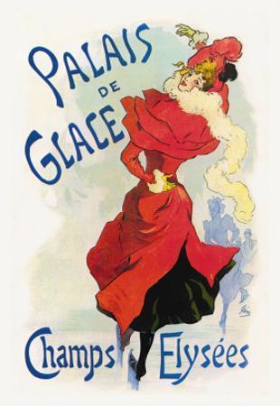 Palais de Glace: Champs Elysees by Jules Chéret