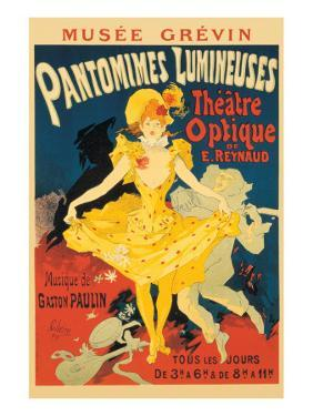 Pantomimes Lumineuses by Jules Chéret