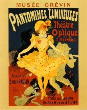 Pantomines Lumineuses by Jules Chéret
