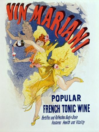 """Poster Advertising """"Mariani Wine"""", a Popular French Tonic Wine, 1894"""