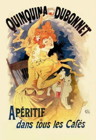 Quinquina Dubonnet Apertif by Jules Chéret