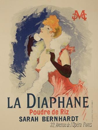 "Reproduction of a Poster Advertising ""La Diaphane"" by Jules Chéret"