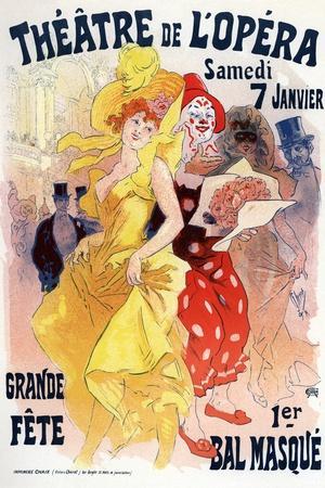 Théatre De L'Opéra, Bal Masqué, 1898-1899