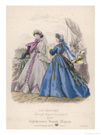Fashion and Dog 1865