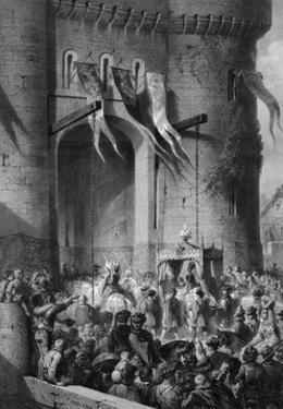 Isabeau Enters Paris by Jules David