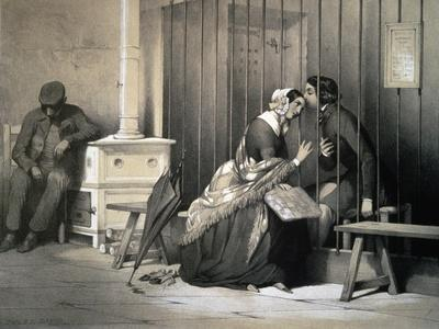 Prisoner, by Jules David (1808-1892), France, 19th Century