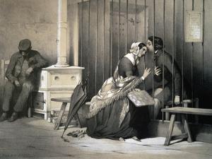 Prisoner, by Jules David (1808-1892), France, 19th Century by Jules David