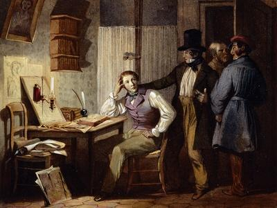 Study, France, 19th Century