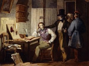 Study, France, 19th Century by Jules David