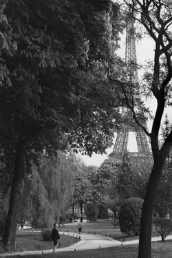 Eiffel Tower, Paris c1950 by Jules Dortes