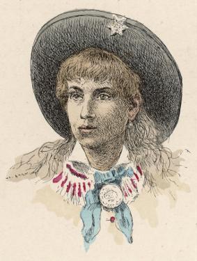 Annie Oakley by Jules Garnier
