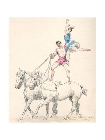 Garnier, Equestian Act