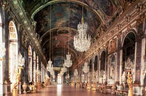 The Galerie Des Glaces (Hall of Mirrors) 1678-84 by Jules Hardouin Mansart