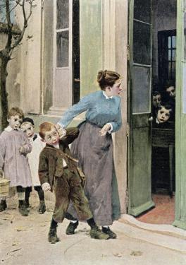 Compulsory Education, 1882 by Jules Jean Geoffroy