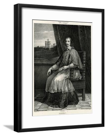 Jules Mazarin--Framed Giclee Print
