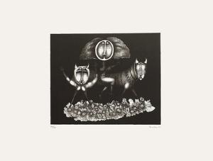 Composition Surrealiste VI by Jules Perahim