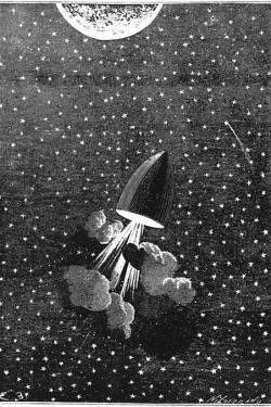 Jules Verne (1828-190), Autour De La Lune, 1865