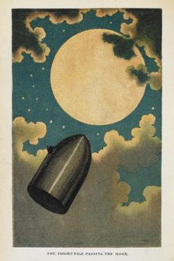 a Spaceship by Jules Verne