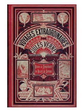 "Front Page of ""Robur Le Conquérant"" and ""Un Billet De Loterie"", by Jules Verne by Jules Verne"