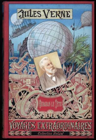 """Jules Verne, Cover of """"Keraban the Inflexible"""" by Jules Verne"""
