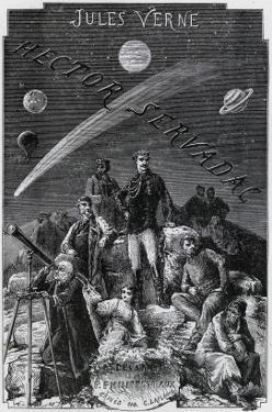 "Jules Verne, ""Hector Servadac"", Frontispiece by Jules Verne"
