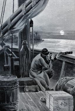 """Jules Verne, """"Hector Servadac"""", Illustration by Jules Verne"""