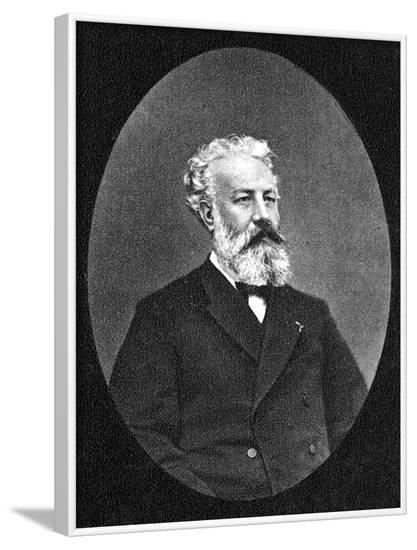 Jules Verne--Framed Photographic Print