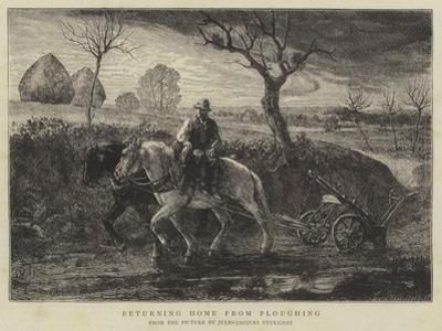 Returning Home from Ploughing