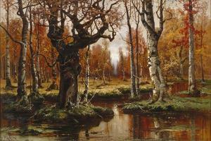 Autumn, 1881 by Juli Julievich Klever