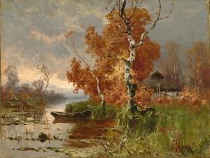 Autumn Evening by Juli Julievich Klever