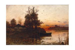 Evening Silence, 1894 by Juli Julievich Klever