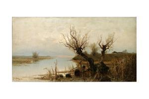 Flood Waters, 1890 by Juli Julievich Klever