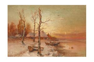 Landscape, 1912 by Juli Julievich Klever
