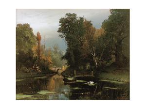 Overgrown Pond (Gatchina Par), 1878 by Juli Julievich Klever