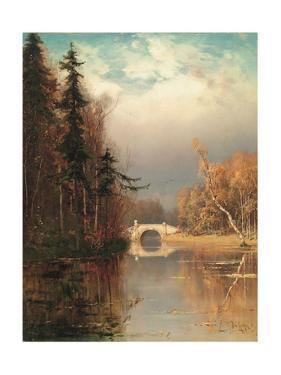 Park in Autumn, 1893 by Juli Julievich Klever