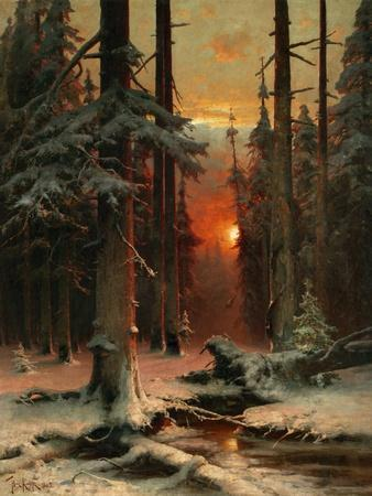 Snow in Forest, 1885