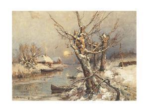 Winter Sun, 1911 by Juli Julievich Klever
