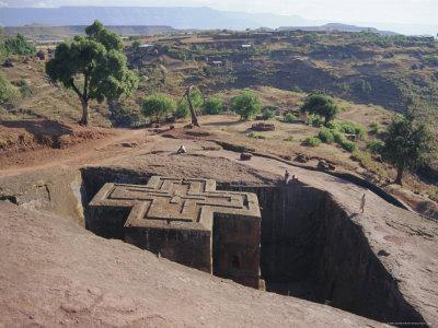 Bet Giorgis, Rock Cut Church, Lalibela, Ethiopia, Africa