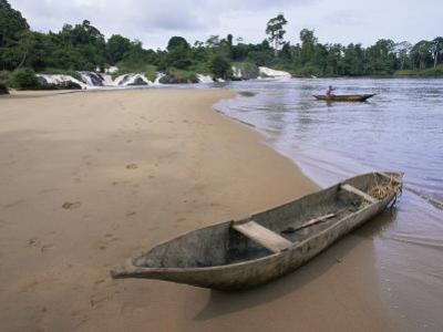 Chutes De La Lobe, Southern Area, Cameroon, Africa by Julia Bayne