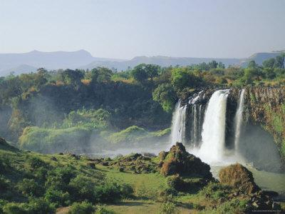 Tis Abay Waterfall, the Blue Nile, Ethiopia, Africa
