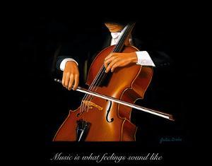 The Cellist by Julia Drake