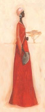 Orange Cloth by Julia Hawkins
