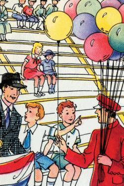 Balloon Man by Julia Letheld Hahn