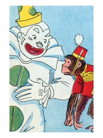 Clown & Monkey